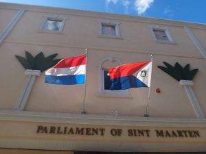 Het parlement van Sint Maarten